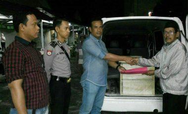 Jasad Pelaku Perampokan Toko Emas di Gelumbang Diambil Keluarganya