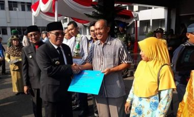 Bupati Muara Enim Launching Program Santunan Kematian