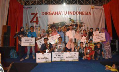 PTBA Sukses Gelar Bazar Kuliner di Tanjung Enim