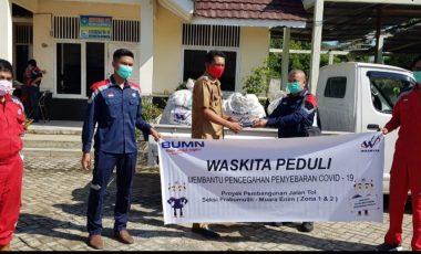"""PT Waskita Salurkan Bantuan kepada Warga Melalui Program """"Waskita Peduli"""""""
