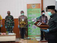 Ditengah Pandemi Covid-19, Juarsah Lantik 135 Pejabat Secara Vidcon