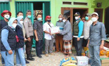 Bantuan Korban Kebakaran Desa Babatan SDL Disalurkan