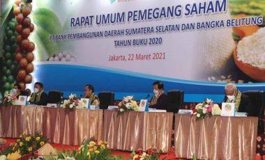 PT Bank SumselBabel Gelar RUPS, Pemkab Muara Enim Terima Dividen Rp8,3 Milyar