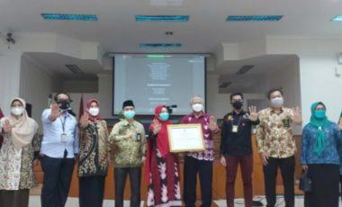 Pemkab Muara Enim Raih Nominasi Anugerah KPAI 2021