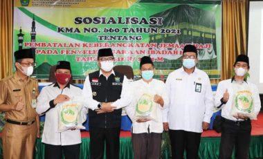 Keberangkatan Jamaah Haji Muara Enim Tahun 2022 Diatur Ulang