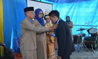 75 Siswa SMK Mutiara Tanjung Enim Dilepas