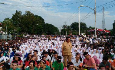 Warga Antusias Ikuti Aksi Nusantara Bersatu