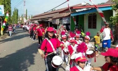 Ikuti Karnaval, Siswa PAUD Tampilkan Berbagai Busana