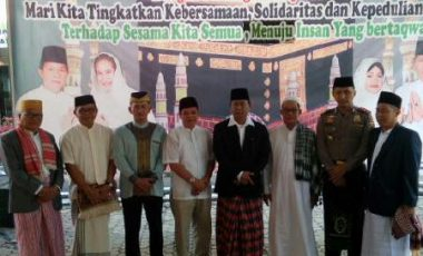 Bupati Muara Enim Shalat Idul Adha Bersama Masyarakat Kabupaten Muara Enim