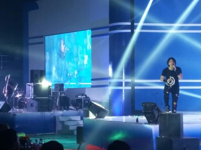Gigi Pukau Warga Tanjung Enim dan Keluarga Besar PTBA