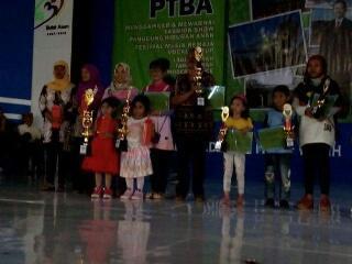 Paud Antrasita Borong Juara Lomba Mewarnai HUT PTBA