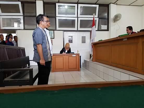Tidak Terbukti Bersalah, Kepala Kominfo Muara Enim Divonis Bebas