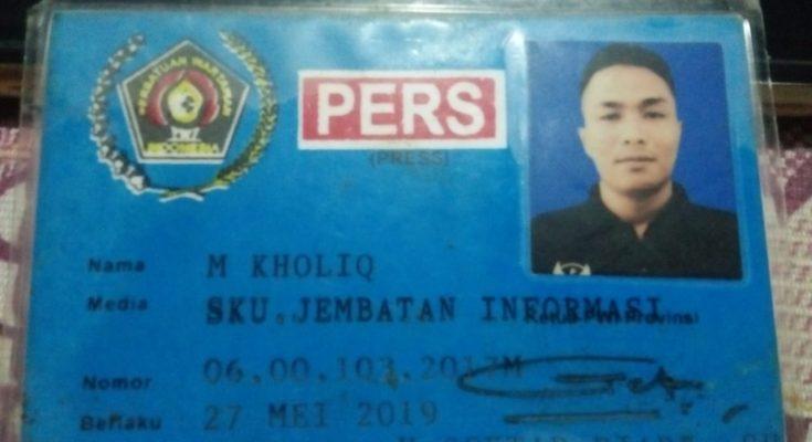 Salah Paham, Wartawan Ikut Diciduk Saat Razia Preman