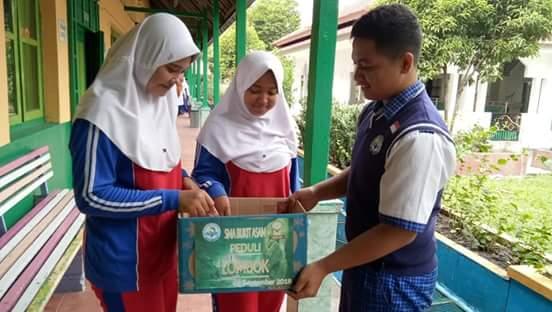 Prihatin Kondisi di Lombok, SMA Bukit Asam Gelar Kegiatan Peduli Lombok