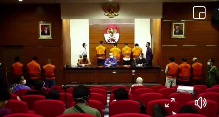 10 Anggota DPRD Muara Enim Jadi Tersangka dan di Tahan KPK